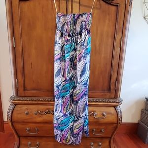 Style & Co. Strapless Maxi dress